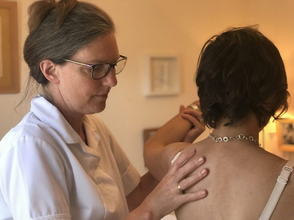 Sarah Kennard, Osteopath